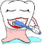 icon of a toothbrush