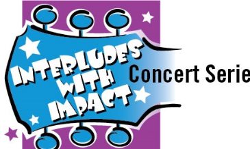 Loogo for Interludes with Impact Concert series